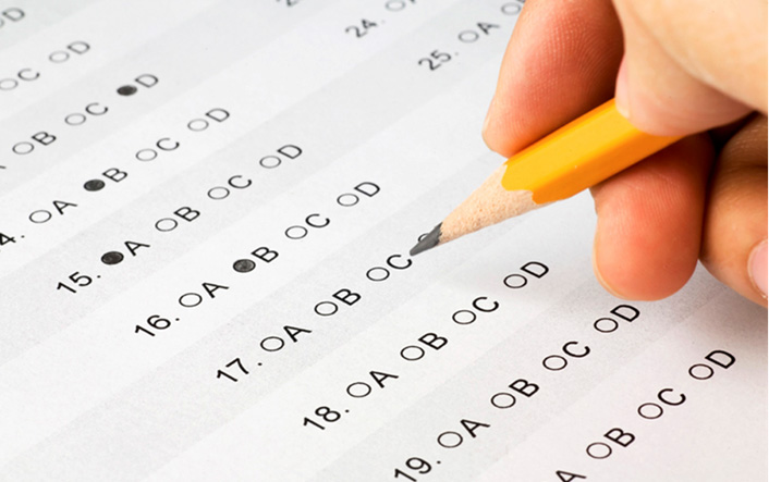 สอบข้อเขียน