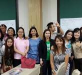 โครงการฝึกทักษะภาษาอังกฤษเพื่อเตรียมความพร้อมสู่ประชาคมอาเซียน สำหรับบุคลากรเพื่อเข้าสู่ประชาคมอาเซียน ( AEC) ระหว่างวันที่ 2 – 4 กรกฎาคม 2557 ณ ภูเขางามรีสอร์ท จ.นครนายก