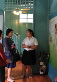 คณะศิลปศาสตร์ให้การต้อนรับคณะกรรมการ การตรวจประเมินคุณภาพภายใน ระดับสถาบัน -039