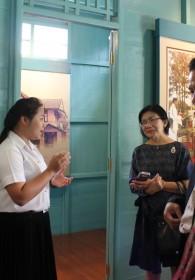 คณะศิลปศาสตร์ให้การต้อนรับคณะกรรมการ การตรวจประเมินคุณภาพภายใน ระดับสถาบัน -042