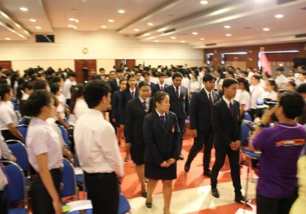 พิธีไหว้ครู ประจำปีการศึกษา 2558 -002