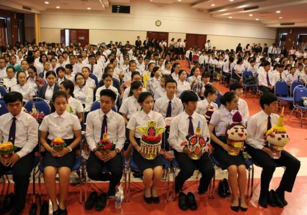 พิธีไหว้ครู ประจำปีการศึกษา 2558 -005