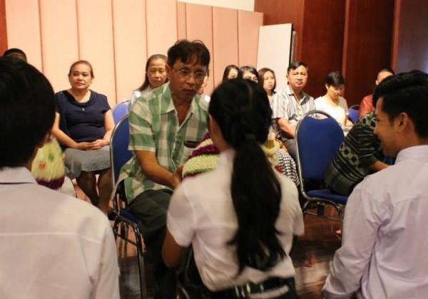 พิธีไหว้ครู ประจำปีการศึกษา 2558 -010
