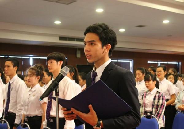 พิธีไหว้ครู ประจำปีการศึกษา 2558 -019