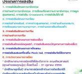 ขอเชิญชวนนักศึกษาเข้าร่วมการแข่งขันทักษะทางวิชาการศิลปศาสตร์ราชมงคลแห่งประเทศไทย ครั้งที่ 2