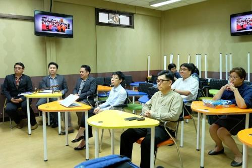 ต้อนรับ Dr. Violet Lo ผู้อำนวยการมูลนิธิ Global Inclusive Lab จากสาธารณรัฐประชาชนจีน พร้อมทั้งได้นำชมเรือนหมอพร