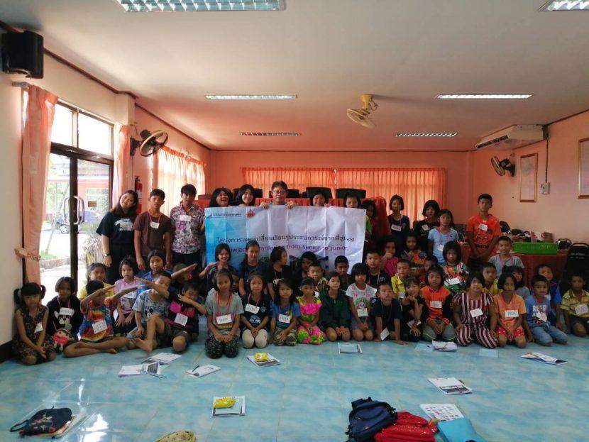 """โครงการ""""การแลกเปลี่ยนเรียนรู้ประสบการณ์จากพี่สู่น้อง"""" (Knowledge transfering from senior to junior)"""