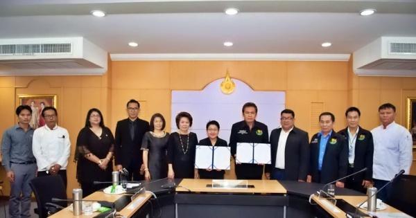 ราชมงคลพระนคร ร่วมกับ สมาคมสื่อมวลชน หนังสือพิมพ์ วิทยุ และโทรทัศน์แห่งประเทศไทย (สน.วท.) ลงนามบันทึกความร่วมมือทางวิชาการ (MOU) ด้านการบริการวิชาการเพื่อพัฒนาศักยภาพวิชาชีพ