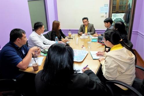 เมื่อวันที่ 9 ธันวาคม 2562 คณบดีและผู้เกี่ยวข้องประชุมประชุมสร้างความร่วมมือกับผู้เชี่ยวชาญด้านการอบรมมัคคุเทศก์ ให้กับบุคคลภายนอก