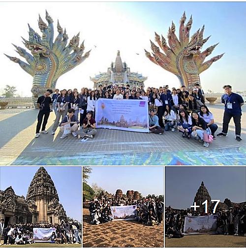 สาขาวิชาการท่องเที่ยว คณะศิลปศาสตร์ จัดโครงการส่งเสริมและปฏิบัติการนำเที่ยวตามข้อกำหนดกรมการท่องเที่ยวศึกษาเส้นทางท่องเที่ยว จังหวัดบุรีรัมย์ นครราชสีมา และลพบุรี