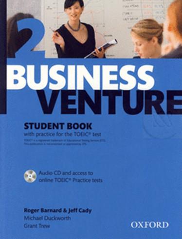 หนังสือ Business Venture 2  - วิชาภาษาอังกฤษเพื่ออาชีพ  ราคา 288 บาท