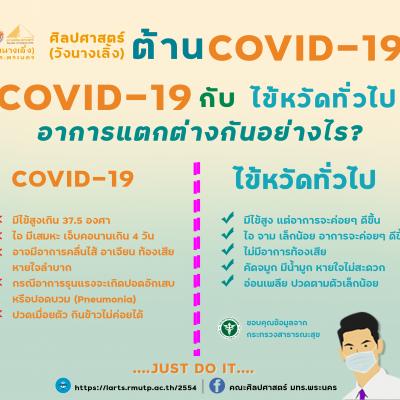 ศิลปศาสตร์ (วังนางเลิ้ง) ต้าน COVID-19 เว้นระยะห่างทางสังคม Distance อย่างน้อย 1-2 เมตร ฝึก! ให้เป็นวินัย ทำ! ทำให้เป็นนิสัย ปฏิบัติ ! = ลดโอกาศ การรับหรือแพร่ระบาดของเชื้อไวรัสได
